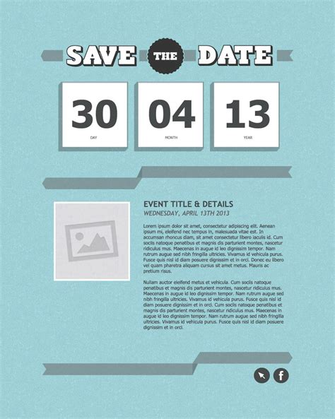 save the date business event templates invitation email marketing templates invitation email