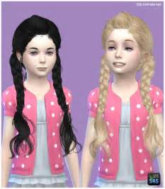 sims 4 child hair cc sims 4 hairs simista may 03g hairstyle retextured