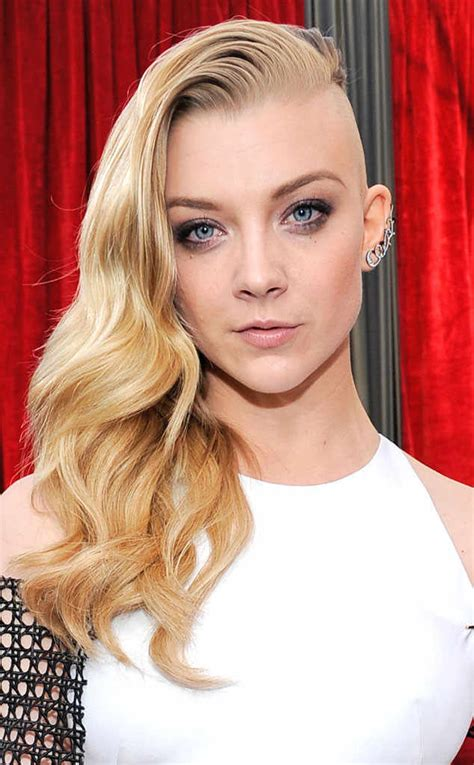 Natalie Dormer Site Natalie Dormer Debuts Half At The 2014 Sag