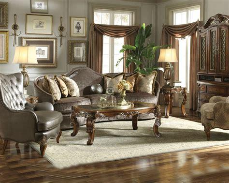 aico coffee table set venetian ll ai n6820
