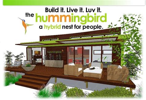 Green Homes Plans by The New Leap Adaptive Hummingbird Is A Sensational