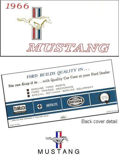 motor auto repair manual 1966 ford mustang regenerative braking 1966 ford mustang owner s manual the motor bookstore