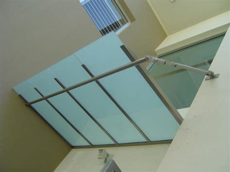 stainless steel awnings b b stainless steel glass awning