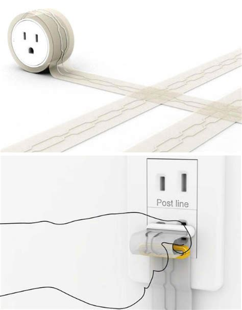 extension cord rug power trip 13 creative cord outlet concepts urbanist
