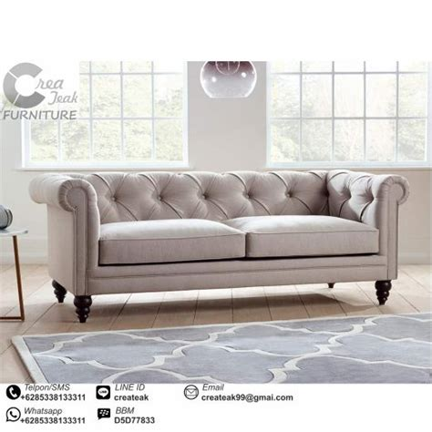 Jual Sofa Bed Minimalis Bekas sofa chesterfield abraham createak furniture createak