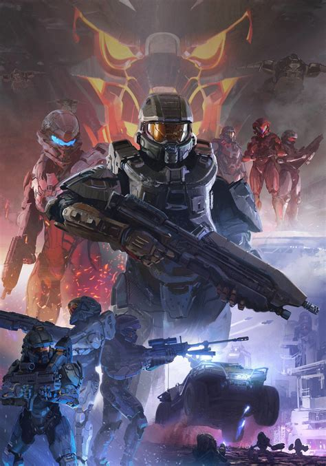 5 Painting Artists by Halo 5 Guardians Concept By Darren Bacon Of 343i