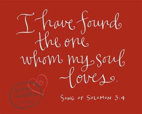 Wedding Bible Verses Song Of Songs by Items Similar To Song Of Solomon Scripture Verse