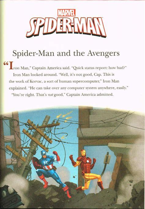 5 minute marvel stories 5 minute stories spiderfan org comics 5 minute spider stories
