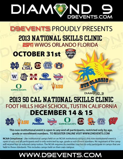 national skills clinic 9 events llc