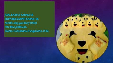 jual karpet karakter batam tsel 0823 9101 8007