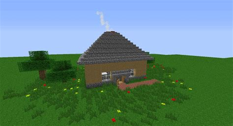 smallest minecraft house small peaceful house minecraft build minecraft building inc