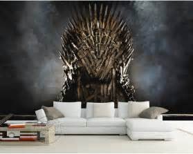 wall decor murals aliexpress com buy game of thrones wallpaper iron throne