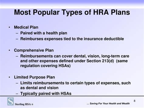 part i section 213 medical dental etc expenses rev ppt sterling hsa 174 health reimbursement arrangements