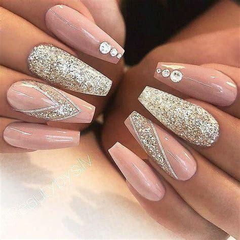 imagenes de uñas acrilicas con glitter u 241 as con glitter 2017 2018 foro belleza bodas com mx