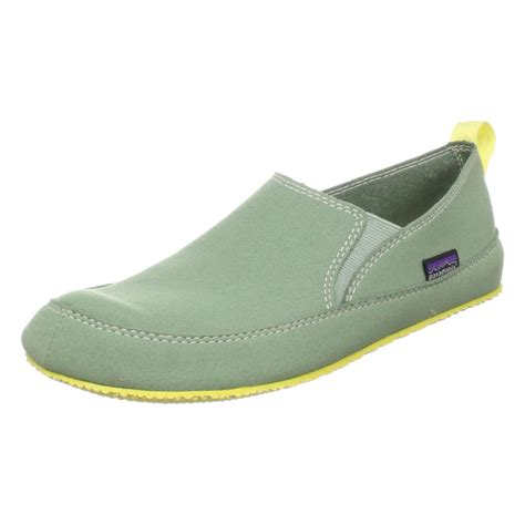 travel shoes patagonia womens advocate slip on travel shoe in green