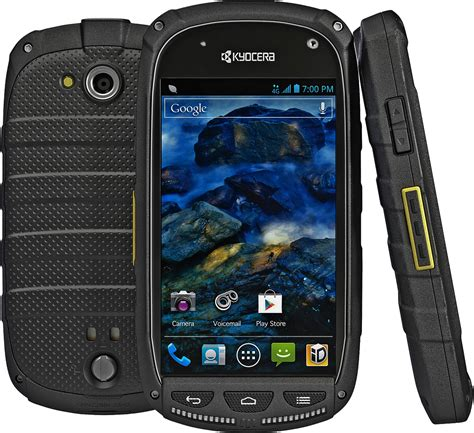 sprint android phones kyocera torque rugged android smartphone for sprint black fair condition used cell phones