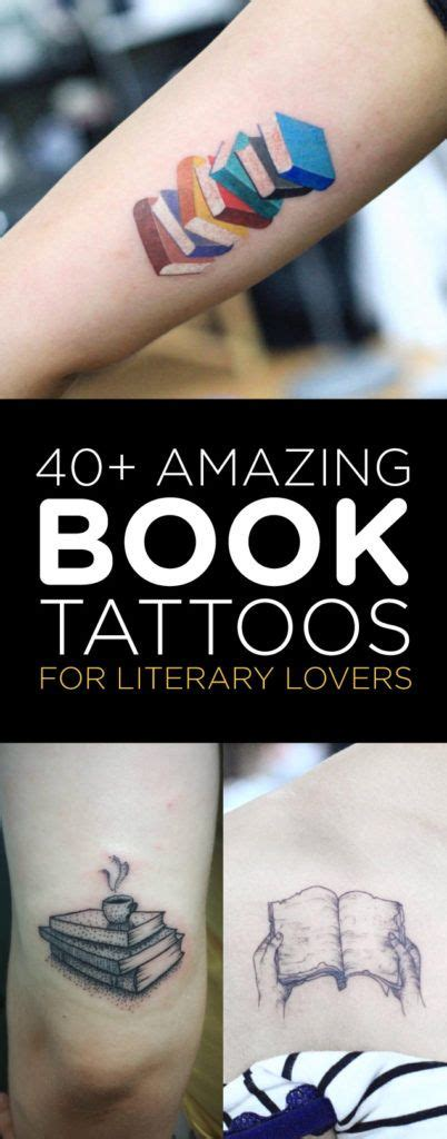 40 ideas for tattooblend 40 amazing book tattoos for literary