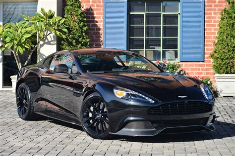 New Aston Martin Vanquish Carbon Black Edition For Sale   GTspirit