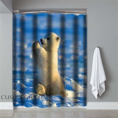 polar bear shower curtain 1000 images about home on pinterest man cave magazine
