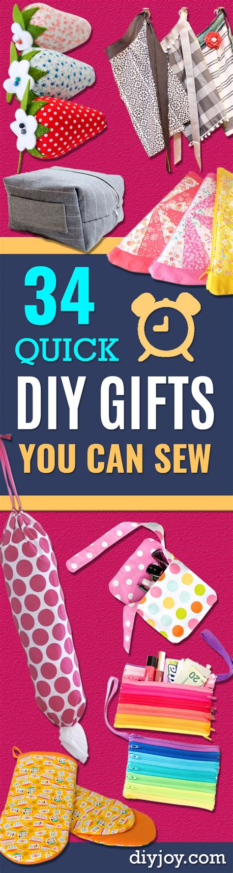 home decorating sewing projects 7 quick and easy no sew 34 quick diy gifts you can sew for friends and family
