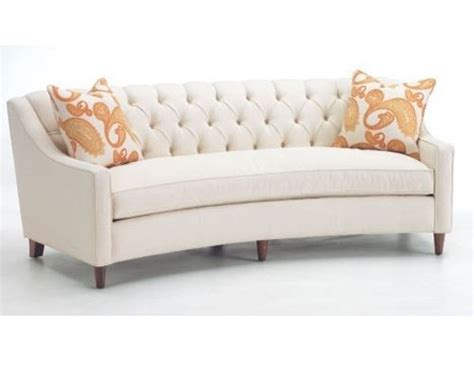 wavy couch curved sofa with tufted back new house pinterest