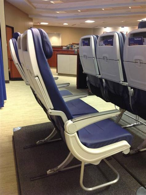 what does airline seat pitch southwest unveils new seat for boeing 737 max the