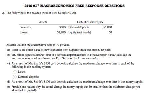 Econowaugh Ap 2016 Ap Macroeconomics Frq 2