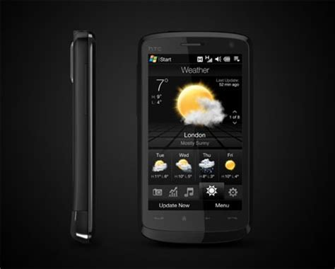 Hp Htc Touch htc s touch hd unveiled in much official