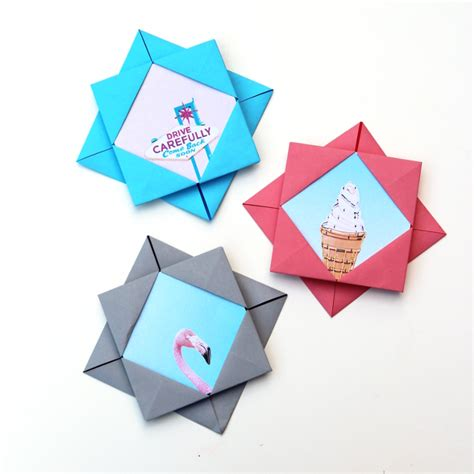 Origami Frames - origami photo frames gathering