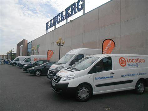 location vehicule leclerc