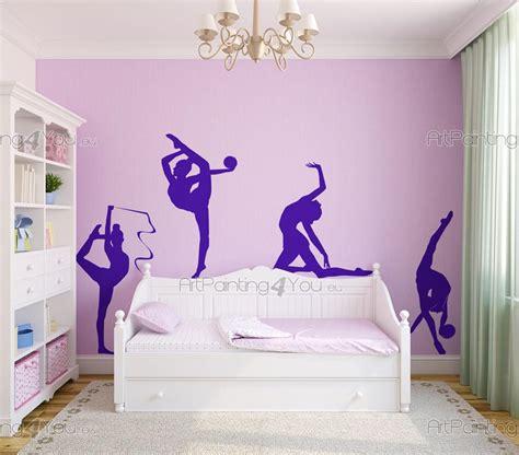 Wall Stickers For Childrens Bedrooms wandtattoo sport rhythmische gymnastik 1948de