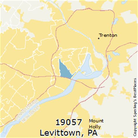 Levittown Sections by Best Places To Live In Levittown Zip 19057 Pennsylvania