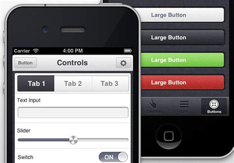 iphone ui themes ultimate resources for mobile web application design