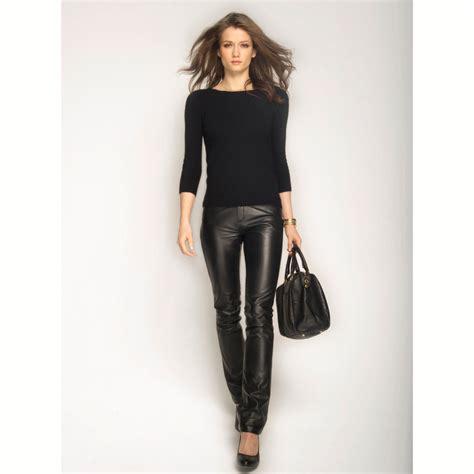pantalones cuero pantalones de moda 187 pantalones negros de cuero 5
