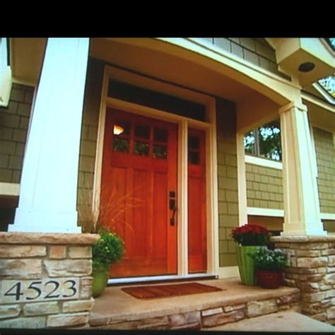 craftsman style porches craftsman style front porch the home in and out pinterest