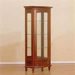 Display Cabinet Jakarta Display Cabi Glass 1 Door Indonesia Furniture Glass Door