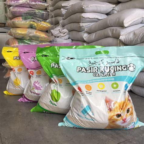 Pasir Wangi Kucing Kit Cat 10l pasir kucing kawan cat litter 10 liter 10l pasir gumpal