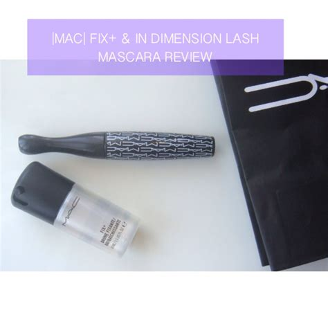 Mac Finishing Spray mac fix makeup finishing spray in dimension