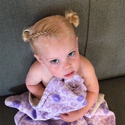 Hairstyles For Baby Hair by 20 Sweet Baby Hairstyles