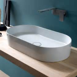 lavabo bagno moderno da appoggio in ceramica ceramica
