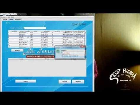 netbeans karma tutorial proyecto facturacion e inventario en java y base de datos