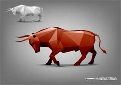 Bull Origami - 17 best images about strong like bull on logos