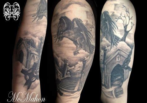 graveyard tattoo design graveyard images designs