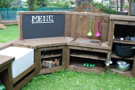 Black Kitchens Designs by Eden Play Mud Kitchen