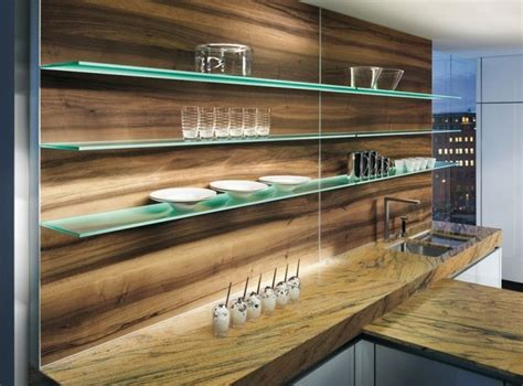 Glass Floating Shelves In Kitchen 17 Best Ideas About Floating Glass Shelves On