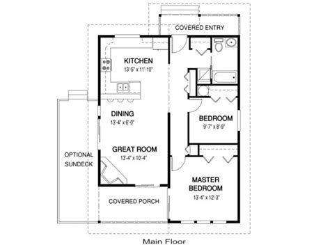 Pool Guest House Floor Plans | guest house plans under 1000 sq ft guest pool house cabana
