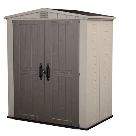 keter factor  ft   ft outdoor storage shed