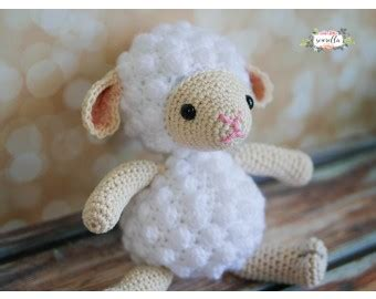 free crochet pattern 80093ad little lamb lion brand yarn amigurumi crochet lamb toy kit lion brand yarn