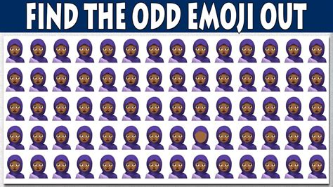 the odd one out 0763671274 find the odd emoji one out emoji odd one out easy puzzles for kids puzzles with answer