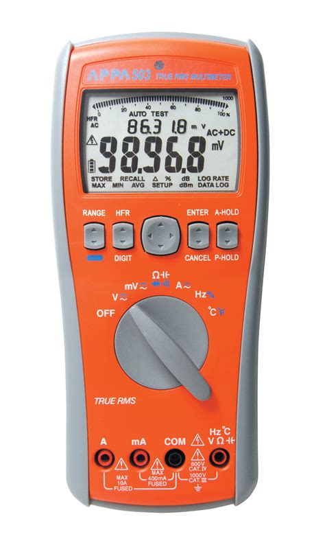 Digital Multimeter Appa appa 503 digital multimeter ac dc true rms reading arc